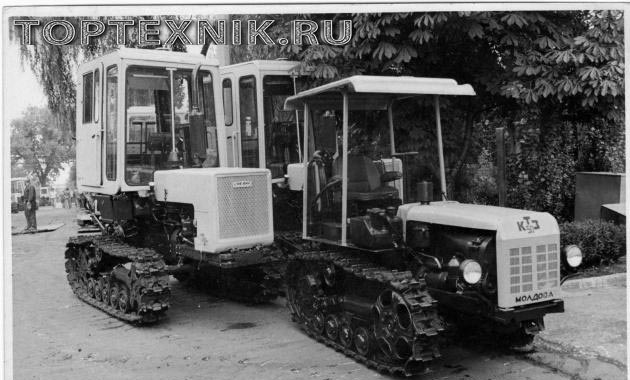 Трактор Т-70 история