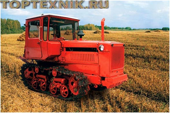 ДТ-75М на поле