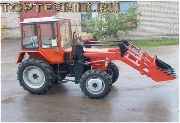 трактор Т-30 сбоку