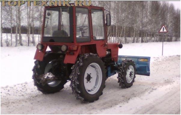 Т-30А на снегу