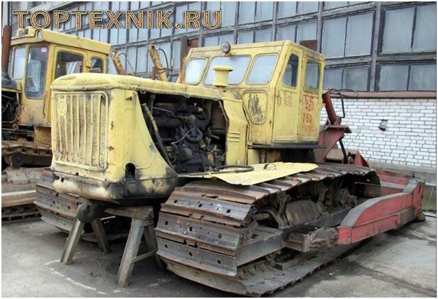 Т-100 на ремонте