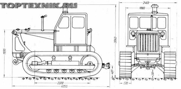 Т-100 схема