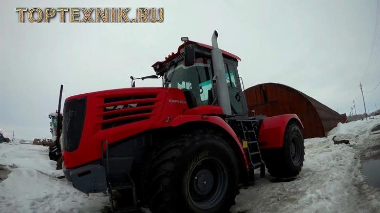 Трактор К744