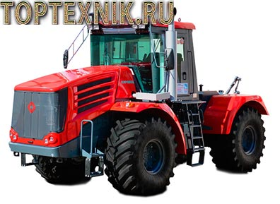 трактор К 744 вид спереди