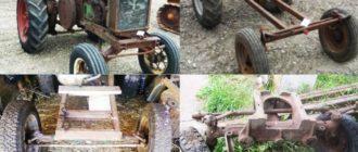 Самодельные трактора виды
