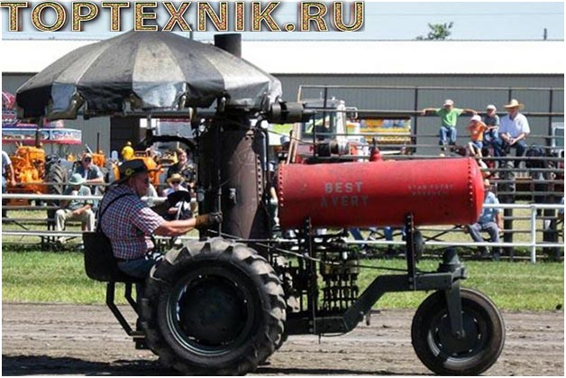 вариация парового трактора