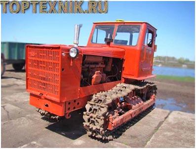 Трактор Т4 вид спереди