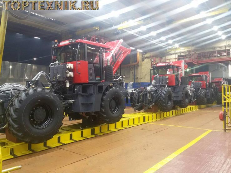Трактор К 4 конвеер