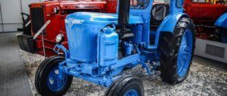 Трактор Т-40 в музее