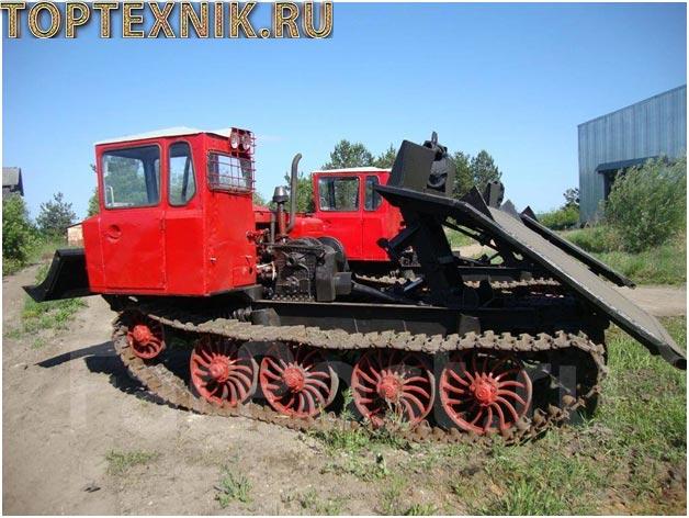ТДТ-55 сбоку