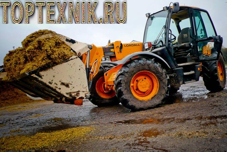 Трактор JCB