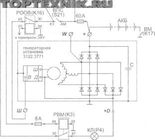 Схема подключения 65115