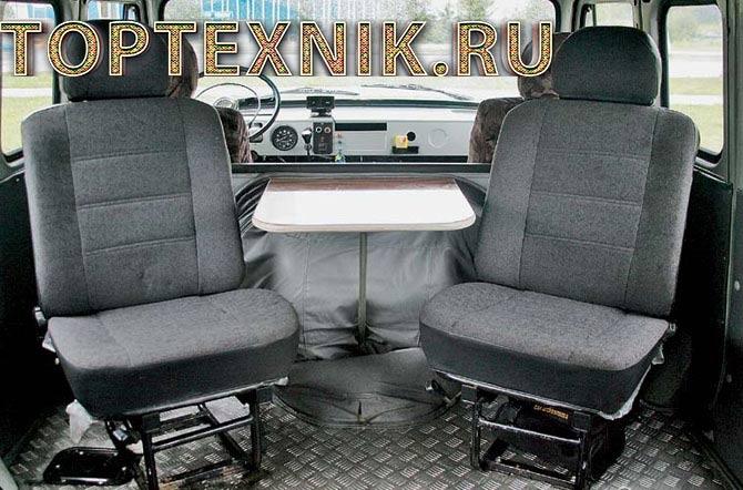 буханка сиденья