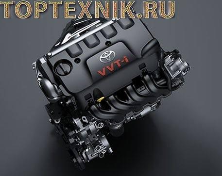 Двигатель Toyota 1NZ сверху