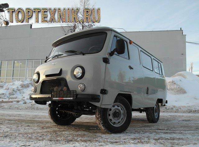 УАЗ 396255 спереди