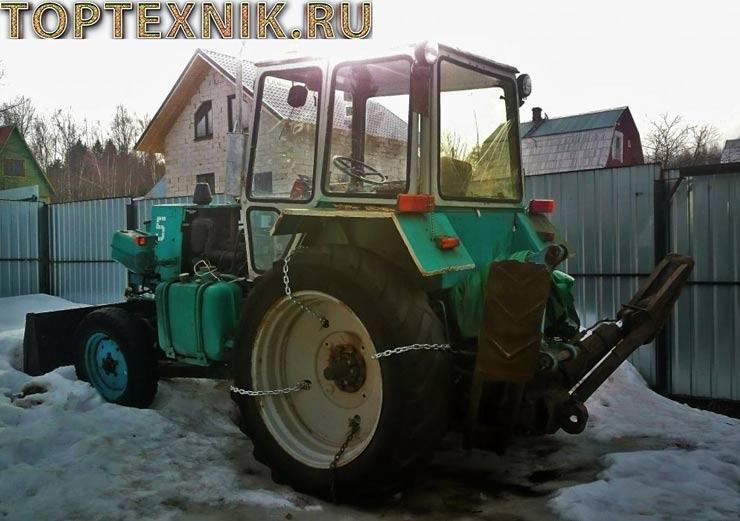 Трактор ЮМЗ-6 обзор