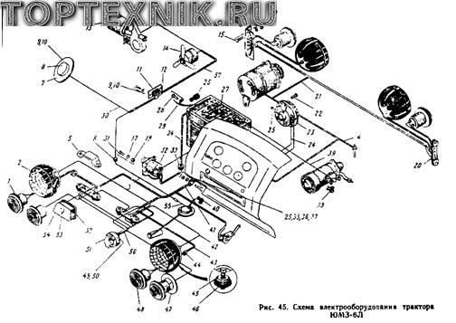 образцы тракторов ЮМЗ 6