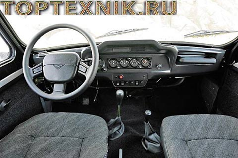 УАЗ Hunter панель