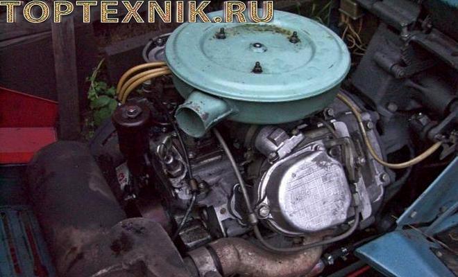 КМЗ 012 с дизельным двигателем