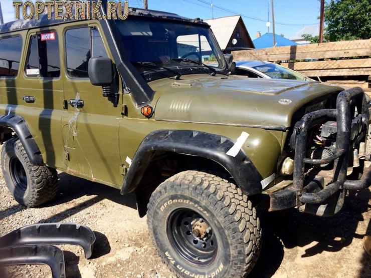 УАЗ 31519 в тюнинге