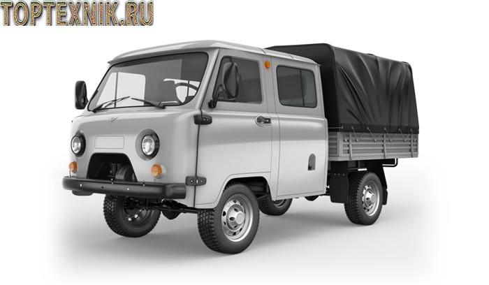 УАЗ 390945 спереди
