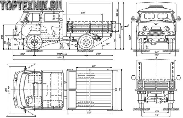 характеристики модели 390945