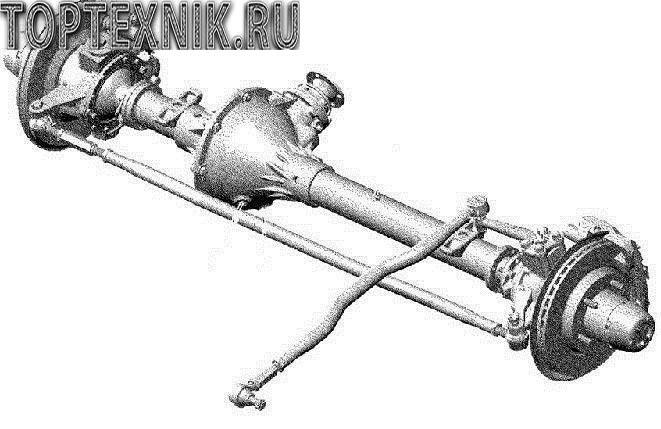 Устройство переднего моста УАЗ буханка