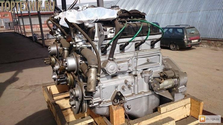 Двигатель 4216 новый