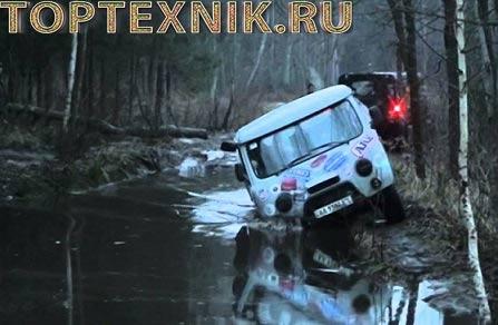 УАЗ-3303 на бездорожье