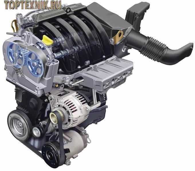 рено двигатель к4м
