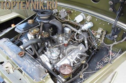 Улучшенный мотор ЗИЛ 130