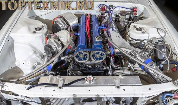 Двигатель 2jz stage