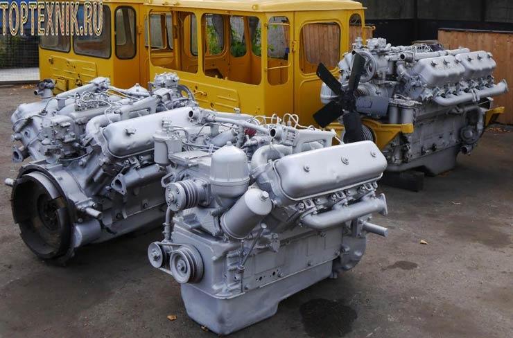 Двигатель ЯМЗ 236