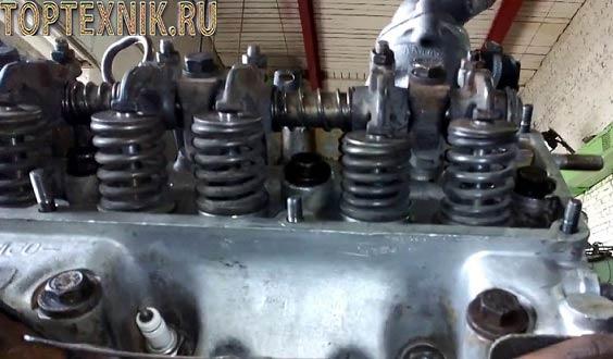 Регулировка клапанов ГАЗ-53